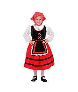 Disfraz de Pastora niña infantil para Navidad 2-4 años