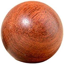 Jltx-my 1パソコンミニ木製フィットネスボールマッサージハンドボール健康瞑想運動ストレスリリーフボールハンドリラクゼーションアクセサリー (サイズ : 5cm)