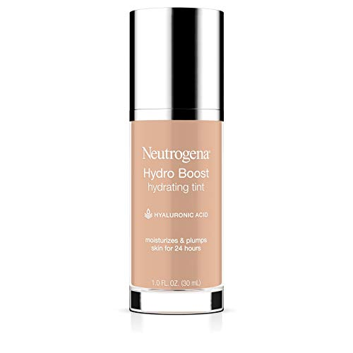 Neutrogena Hydro Boost Hydrating Tint with Hyaluronic Acid, Lightweight Water Gel Formula, Moisturizing, Oil-Free & Non…