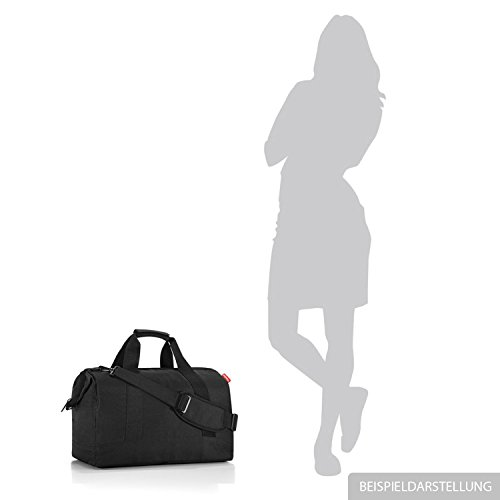 Handle C L Women's Top Allrounder black barock Liter 30 Reisenthel Bag taupe 1qUw0EqX