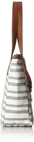 B Womens Shopper Fossil Blue Tote 10 Ew 91 Fiona x Damentasche cm T H Multicolour 89x41 Stripe 8x28 4wqCF6