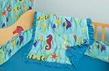 Baby : Room Magic 4 Piece Crib Set, Tropical Seas