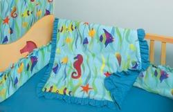 Room Magic 4 Piece Crib Set, Tropical Seas by Room Magic