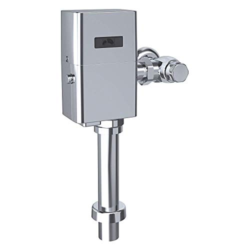 TOTO TET1UA32#CP 12 Inch Chrome-TET1UA32 EcoPower Touchless 1.0 GPF Toilet Flushometer Valve and 12