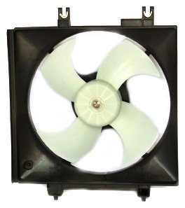 TYC 611070 Subaru Legacy Outback Replacement Condenser Cooling Fan Assembly
