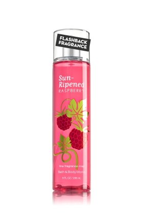 Bath & Body Works Fine Fragrance Mist Sun Ripened Raspberry (Bath And Body Works Splash)