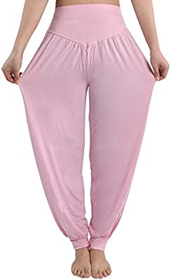 new photos replicas special discount of fitglam Women's Harem Pants Loose Casual Lounge Yoga Pants ...