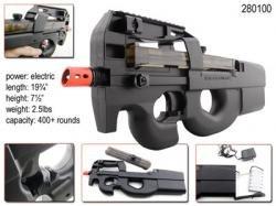 p90 airsoft gun metal - 2