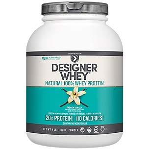 Designer Whey Protein French Vanilla 4.0 Lb - Designer Whey