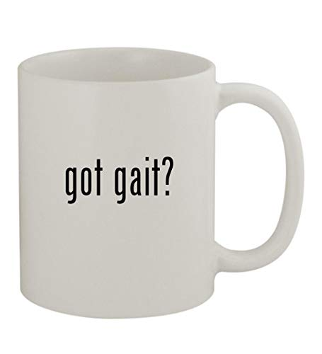 Gait Rifton Trainer - got gait? - 11oz Sturdy Ceramic Coffee Cup Mug, White