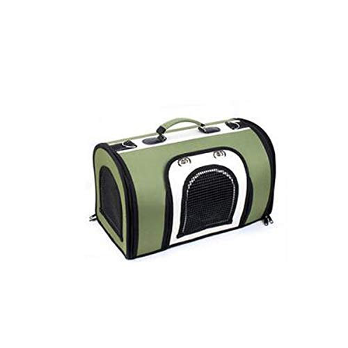 XIAN Oxford Cloth Pet Carrying Case, Travel Handbag, Very Suitable for Cats and Puppies, Suitable for Outdoor, Travel, Walking, Super Breathable. Soft Sided Portable Pet Travel Carrier (Color : M1) ()