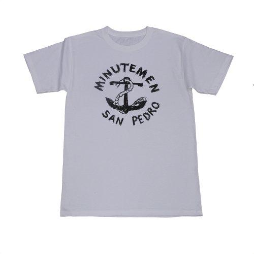 High Baby School Tee - MINUTEMEN San Pedro Logo White T-shirt (Large)