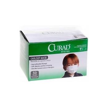 Amazon.com: Medline cur380z Curad Face Mask, niño, color ...