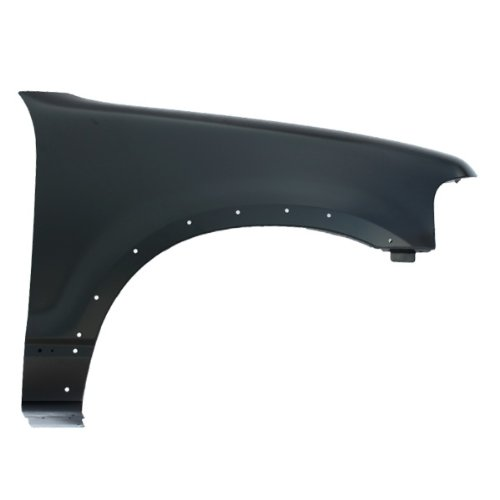 Ford Explorer Fender Flares (CarPartsDepot, Front Passenger Right Side Fender Primed Steel Flare Holes RH, 371-18731-02 FO1241223 3L2Z16005BA)