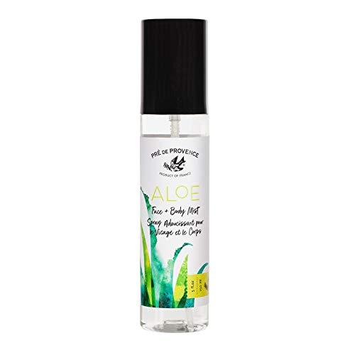 Organic Aloe Collection Hydrating Face and Body Spray (5oz), Fresh Cucumber - Body Aloe Mist
