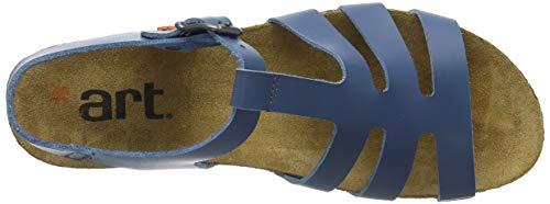 Mujer Art Punta Sandalias Jeans Con 1254 jeans Para Becerro Abierta Azul Jeans creta rOqIzrYw
