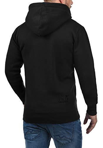 Al Zip Black Hoodie Forro solid Hombre Bene Tacto 9000 Para Con Capucha Cremallera Sudadera Polar Chaqueta Suave OxAw5AqZ