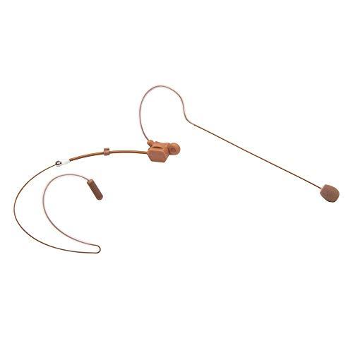Thor Hammer SE-11 Single Ear Headset Microphone TA4F for Shure HM-SEO11-T-TA4F (brown)