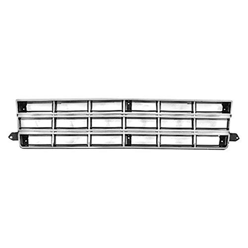 - New Front Grille For 1982-1990 Chevrolet S10 Pickup Chrome/Silver, Chevy Only GM1200130