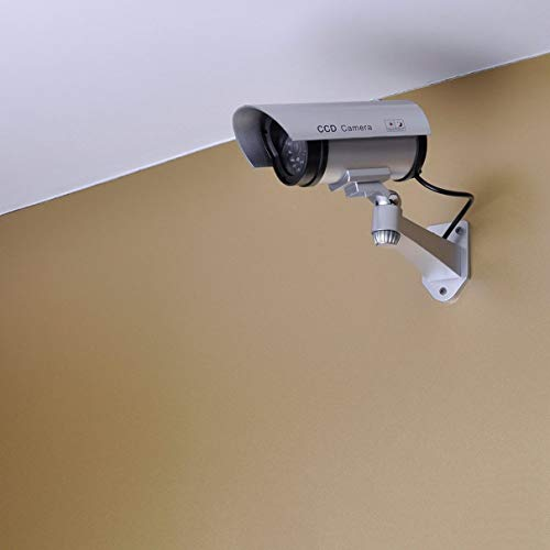 Price comparison product image CA-11 Monitor Security Guard Simulation Surveillance Camera Outdoor Indoor Dummy IR Camera Built In LED Flashing Light