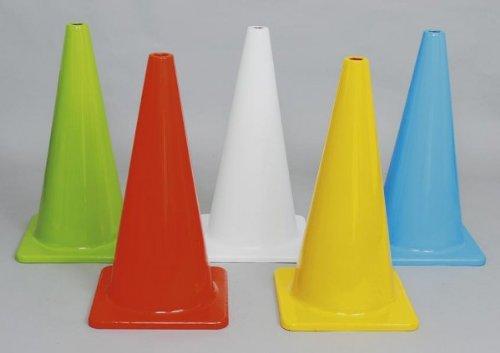 赤羽根工業 5色カラーコーンセット大型(穴ナシ) A-2618