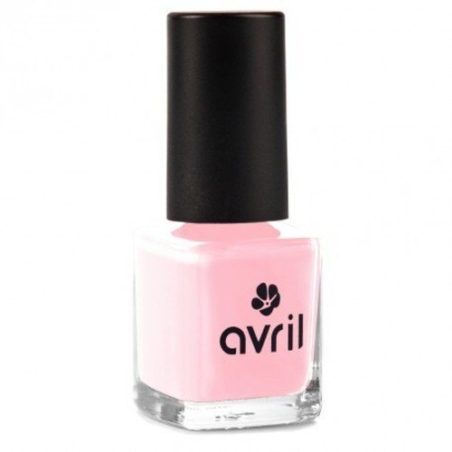 AVRIL - Vegan Nail Polish - Chemicals Free - Rose Ballerine 629 - Easy Application, Not Tested on Animals - 7ml