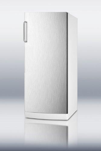 Summit FFAR10SSTBLOCKER: 10.1 cu.ft. all-refrigerator with n