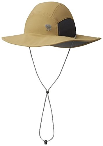 Mountain Hardwear Men's Chiller Wide Brim Hat II, Sandstorm, Large