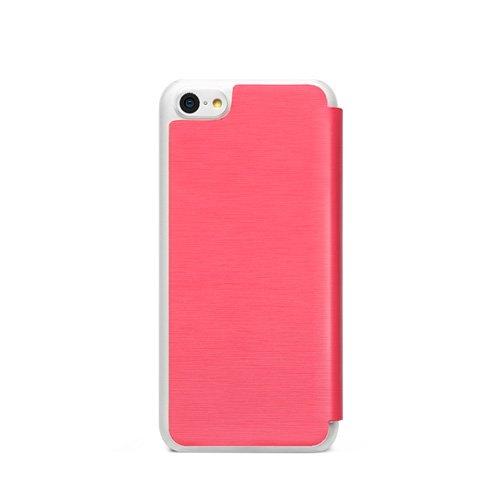 ZENUS Masstige Color Flip Case für Apple iPhone 5c, Rosa