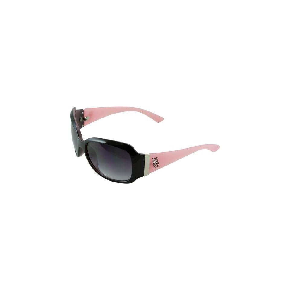 NCAA South Carolina Gamecocks Ladies Pink Black Team Logo Fashion Sunglasses