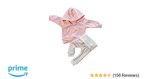 cdd61573c567 Amazon.com  Baby Girl Clothes Long Sleeve Hoodie Sweatshirt Floral ...