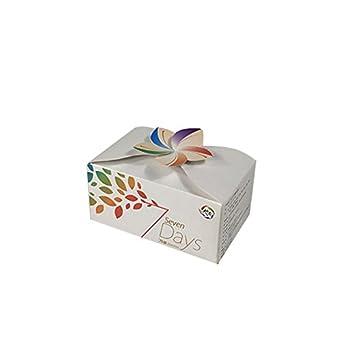 Despertador cajas de embalaje de luz nocturna, cajas de regalo de papel GAKOV con tapas para regalos, elaboración, cajas de cupcake: Amazon.es: Iluminación