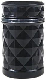 灰皿のプラスチック携帯用取り外し可能な車の灰皿のギフト(11 * 7.5cm) YCHAOYUE (Color : Black)