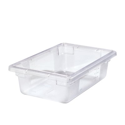 (3.5 Gallon Clear StorPlus Color-Coded Food Storage Box 18