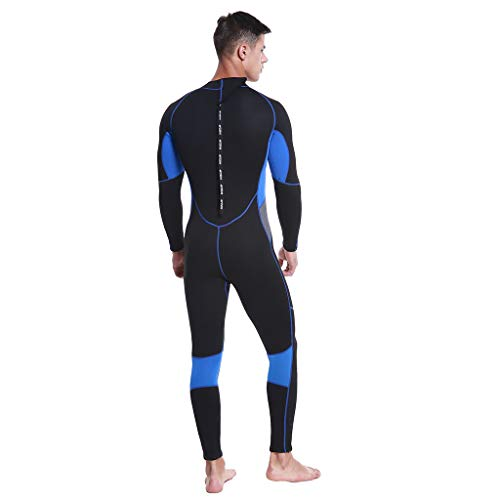 Allywit Wetsuits Mens 3MM Neoprene Scuba Diving One Piece Sport Skin Spearfishing Full Suit Black by Allywit (Image #4)