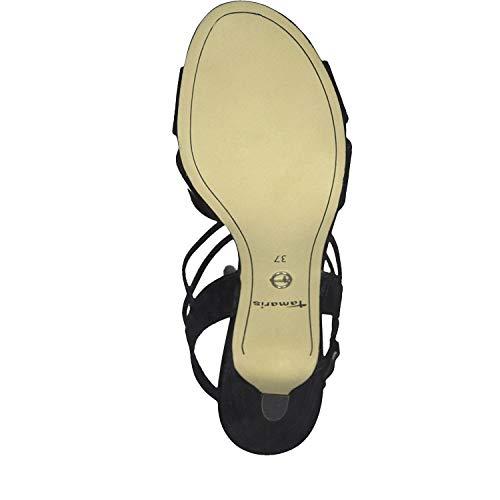 Pulsera Patent Sandalia 1 black 28304 18 Negro 22 Con Tamaris Mujer 1 Para 6AY4Fw4yqO