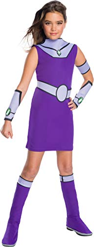 Teen Titans Go Movie Costume Deluxe Starfire, Medium]()