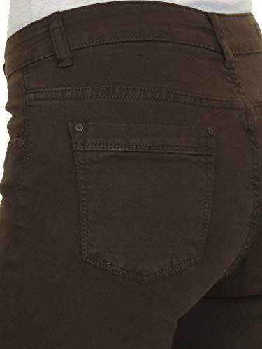 Sul Jeans Con Denim Marrone 54 Alta Ice 44 Risvolto Risvoltino In Vita 40tqWEwd