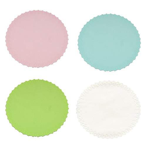 ZengBuks Tapa de Silicona Reutilizable Tapa Colorida Extensible de Gel de s/ílice Multifuncional El/ástica Preservativo Tapas Partes Azul