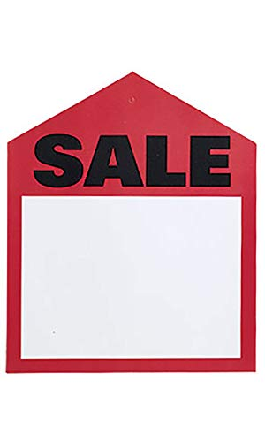 Oversize Tag - Large Oversized Red Sale Price Tags - 6