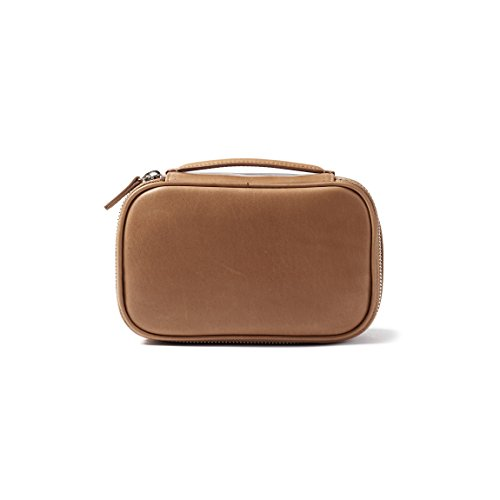 Leatherology Nested Travel Organizer Trio - Full Grain German Leather Leather - Dark Caramel (brown) by Leatherology (Image #2)