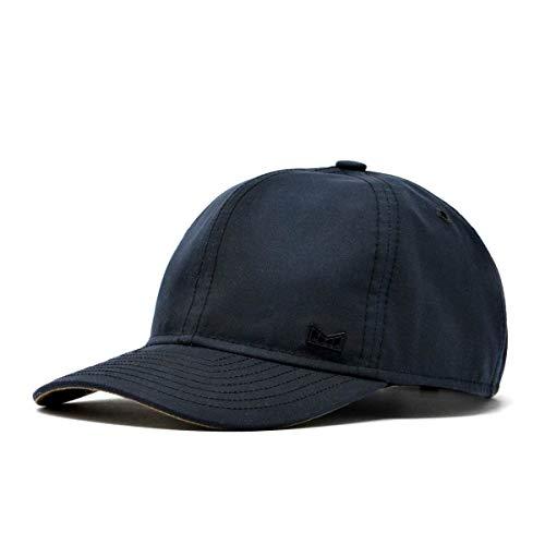 melin Men's Huntsman Waxed Cotton Strapback Hat One Size Navy
