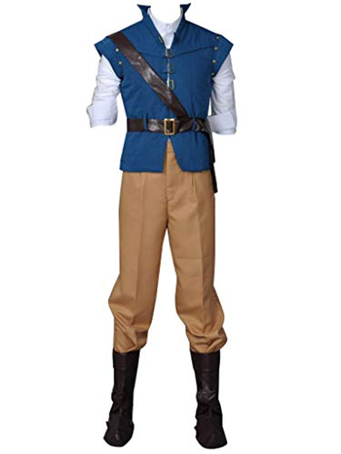 CosFantasy Best Flynn Rider Cosplay Costume mp001594 (XXXL(Bust: 41inch)) -