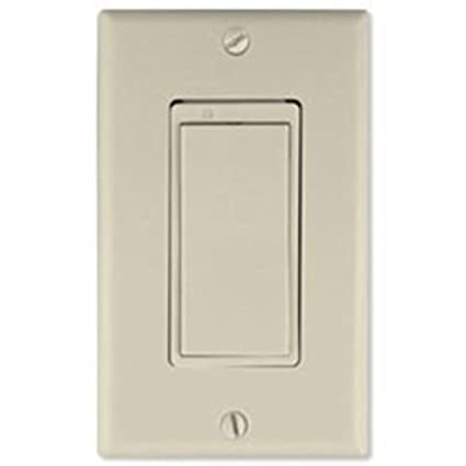 GE 45610 Z-Wave Add On Auxiliary Switch (Light Almond) - Wall Dimmer ...