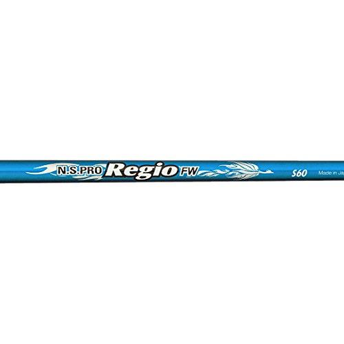 日本シャフト ゴルフシャフト  N.S.PRO Regio FW TYPE 60  フェアウェイウッド用 フレックス R N.S.PRO Regio FW TYPE 60   R B00ORENYEY