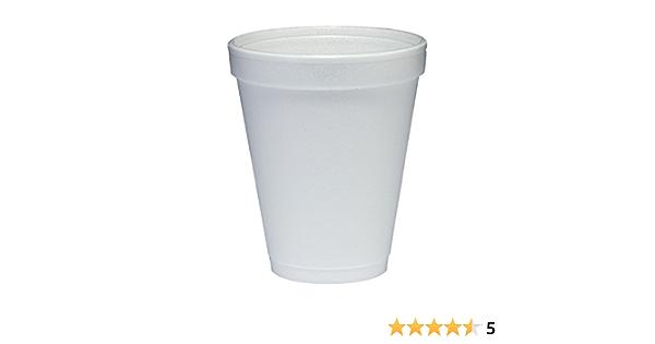 White 25 10oz Dart Fusion 10FJ8 Conex Hot//cold Foam Drinking Cups 40//bag