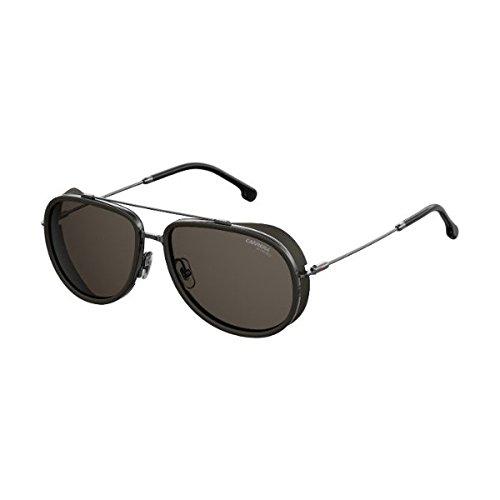 Carrera Men's 166/s Aviator Sunglasses, Dark Ruthenium, 59 (166 Sunglasses)