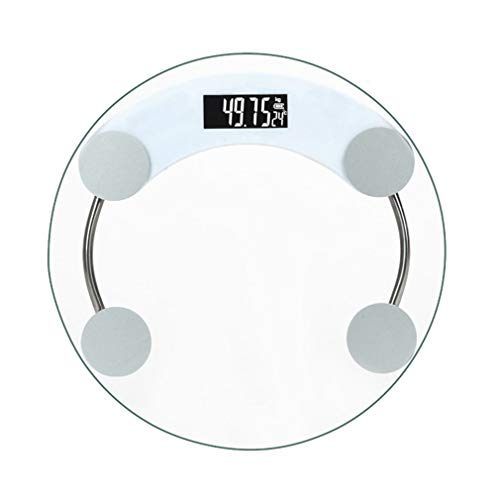 SXXDERTY Digital Bathroom Scales Easy Read Display Electronic Weighing Scale Large Platform Step-On for Instant Weight Reading ()