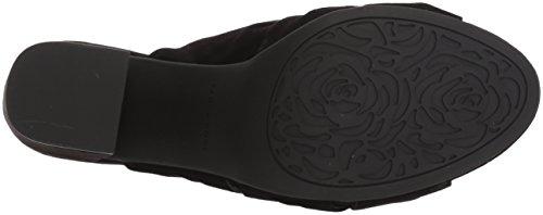 Taryn Lana Nappa Sandales Rose Rose Slide Noir Moutons Taryn Femmes xaIqdwvB