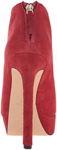 Nine West Womens Vain Suede Boot Red